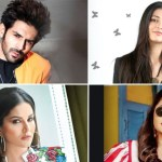 (Clockwise) Shruti Hassan, Rashami Desai, Sunny Leone, Kartik Aaryan