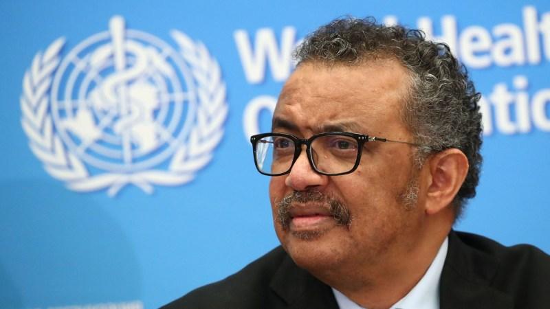 HO Director-General Tedros Adhanom Ghebreyesus