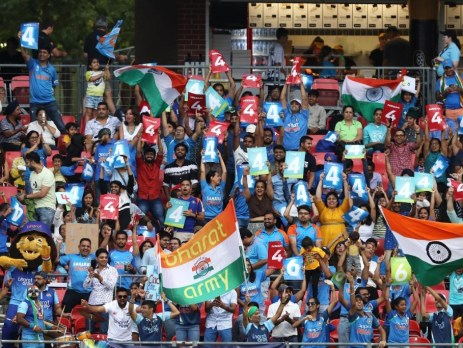 Fans at the ICC Women's T20 World Cup held in February 2020 in Sydney.