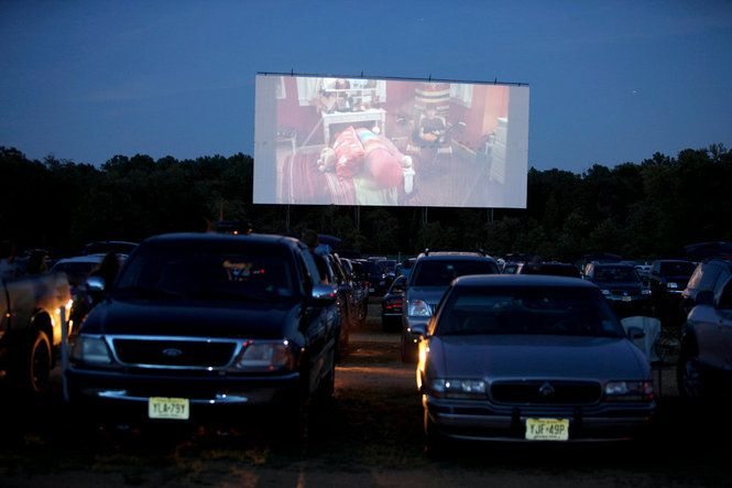 New Jersey's only drive-in Delsea theater in Vineland