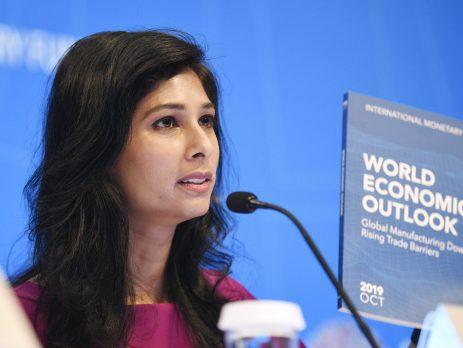 Chief Economist of IMF, Gita Gopinath.