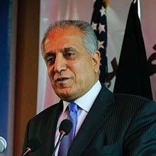 US peace envoy for Afghanistan Zalmay Khalilzad.