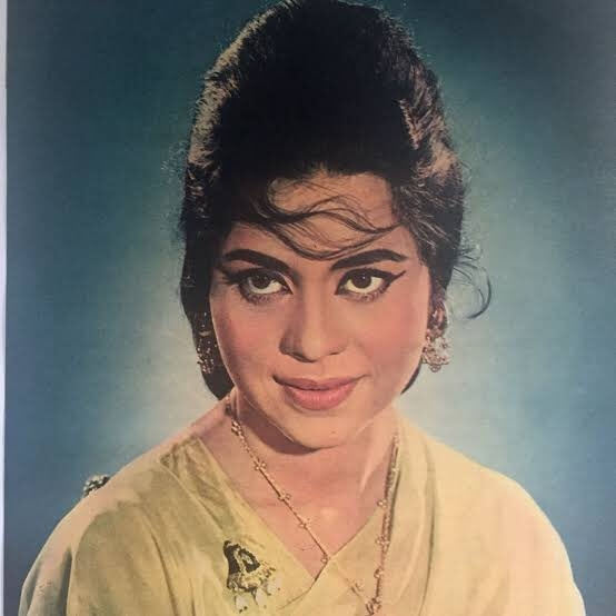 Actress Kumkum.