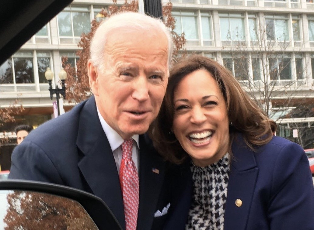 harris and biden finall