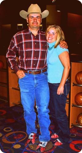Zach and Jenn  Bowling
