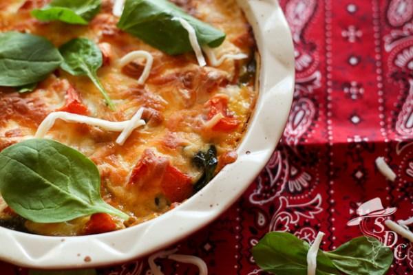 the south dakota cowgirl, crustless quiche, egg dishes, food,