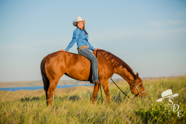 Senior, Dylan L. by South Dakota Cowgirl Photography