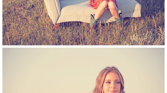 Abby Prather, MUA. Photo by The South Dakota Cowgirl on Location at The DX Ranch, Eagle Butte, SD.