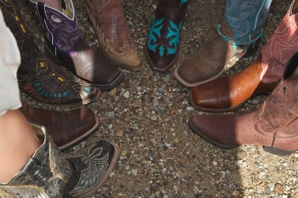 Bridesmaid boots
