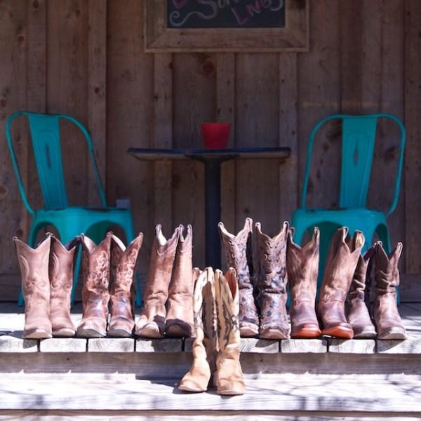 Western Wedding Cowboy Boots