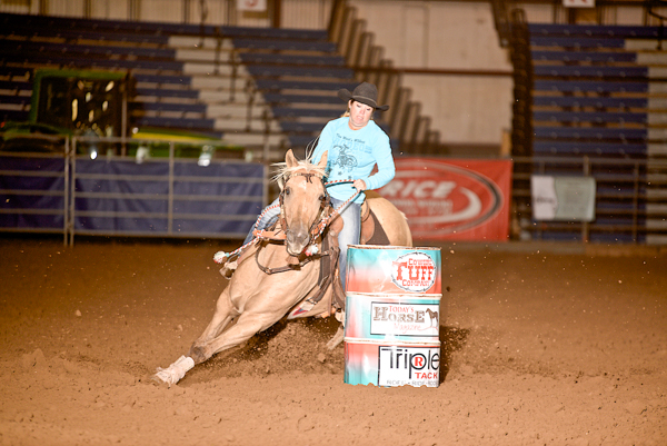 West Fest Rapid City 2015, The South Dakota Cowgirl, Barrel Racing