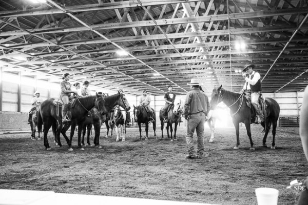 Curt Pate, visited Project H3LP in October  of 2016 to give a horsemanship clinic to local youth.