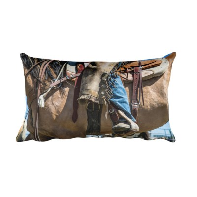 Colorful Cowboy Pillow