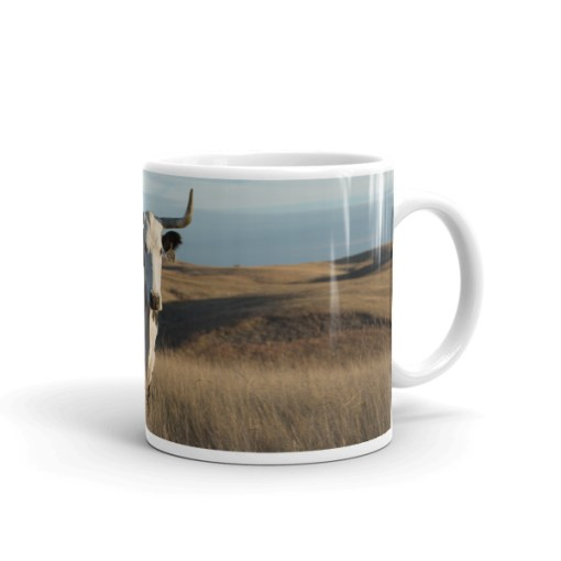 Ceramic Longhorn Mug