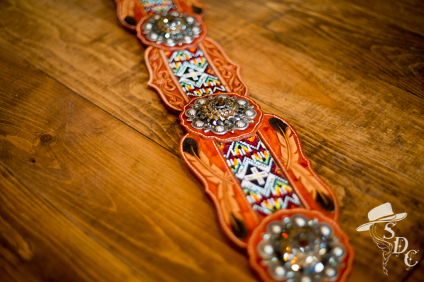 beaded hip belt by DX Designs