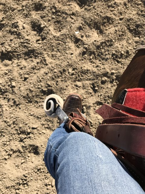 Caiman Boots from Cavenders, boots are made for riding