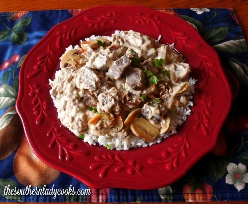 Beef Stroganoff - The Southern Lady Cooks