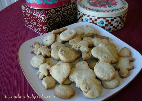 Shortbread Cookies - The Southern Lady Cooks