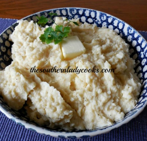 Creamy Mashed Potatoes The Southern Lady Cooks