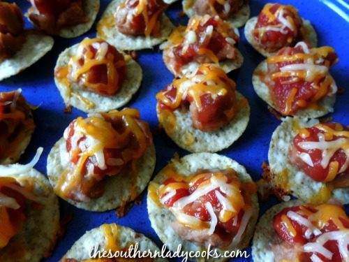 Tortilla Chip Snacks-The Southern Lady Cooks