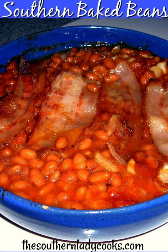 Southern Baked Beans - The Southern Lady Cooks