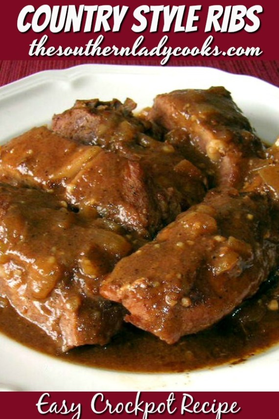 Country Style Ribs - Crockpot