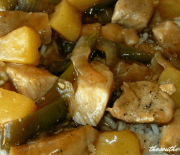 SWEET AND SOUR PORK SKILLET