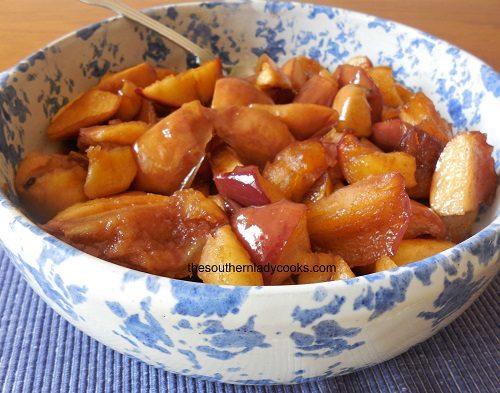 Tasty Skillet Fried Apples3