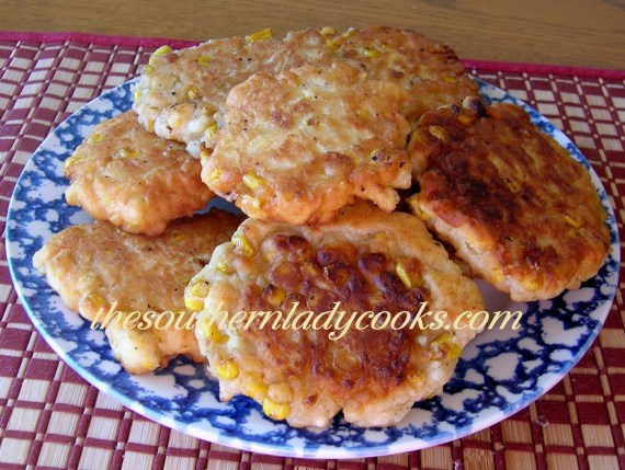 Country Corn Fritters Recipe The Southern Lady Cooks, Corn Recipes