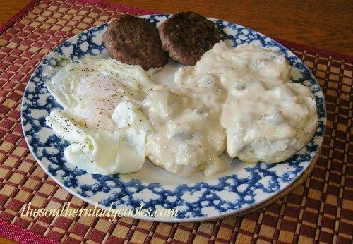 Sausage Gravy The Southern Lady Cooks