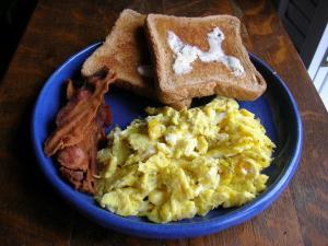 how to make scrambled eggs no milk