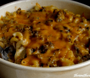 HAMBURGER SUPREME CASSEROLE