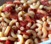 MACARONI AND TOMATOES