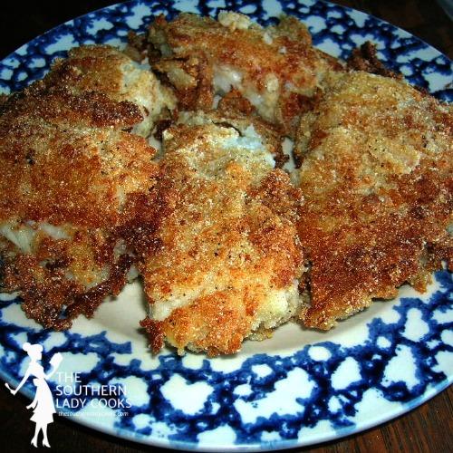 Fried Cod Fish Fillets