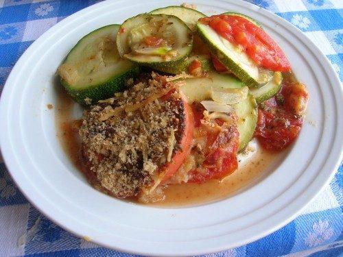 Zucchini and Tomato Casserole 2
