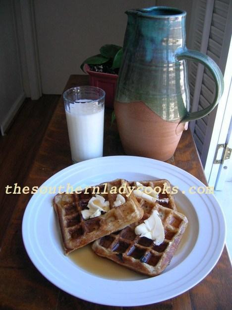 Sourdough Waffles - Copy