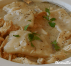 CHICKEN AND DUMPLINGS, EASY RECIPE