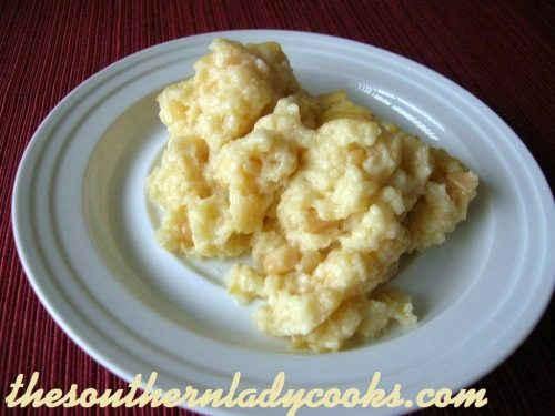 Corn Pudding - The Southern Lady Cooks