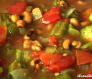 CROCKPOT BLACK-EYED PEAS OR HOPPIN JOHN