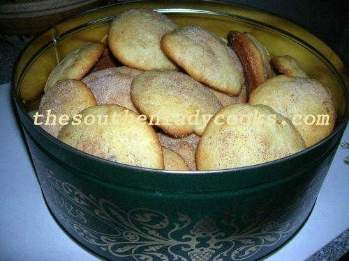 Sour Cream Pecan Cookies