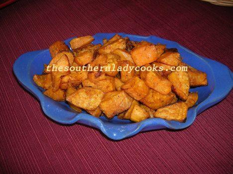 Roasted Sweet Potatoes - Copy