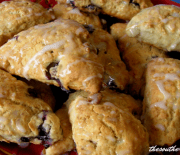 NUTTY BLUEBERRY SCONES
