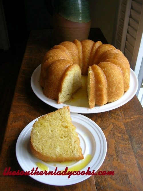Kentucky Butter Cake - The Southern Lady Cooks