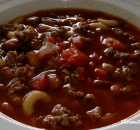 CHILI WITH MACARONI