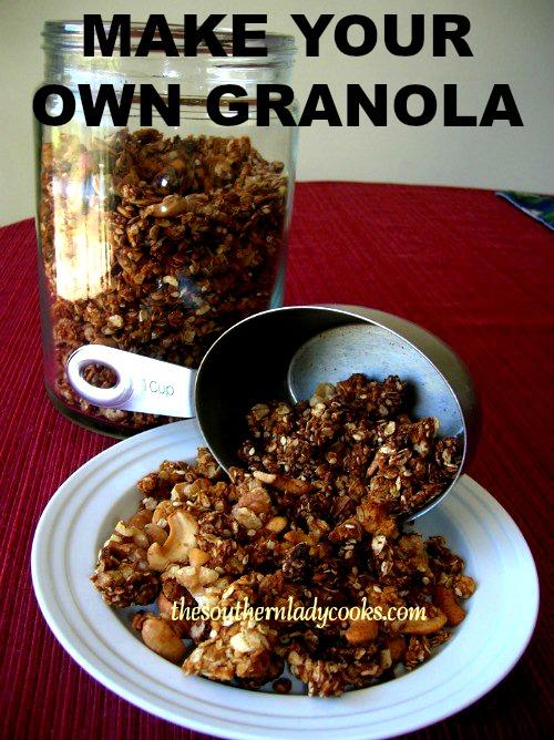 Make Your Own Granola