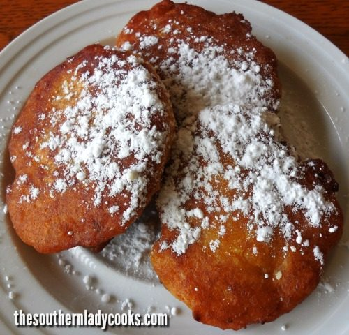 Pumpkin Fritters- The Southern Lady Cooks