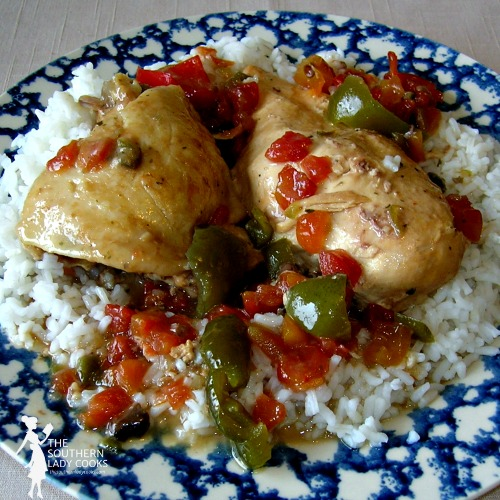 Crockpot Picante Chicken