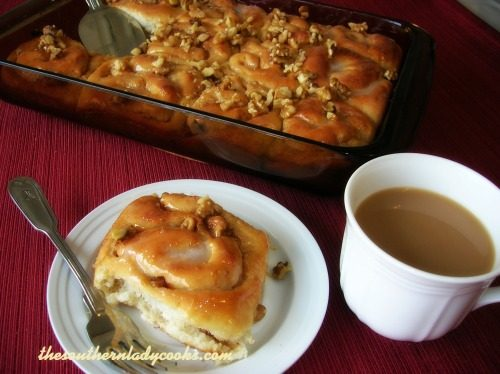 Cinnamon rolls - The Southern Lady Cooks