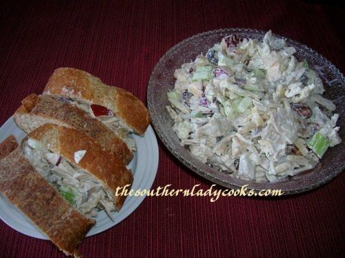 Turkey Salad -The Southern Lady Cooks