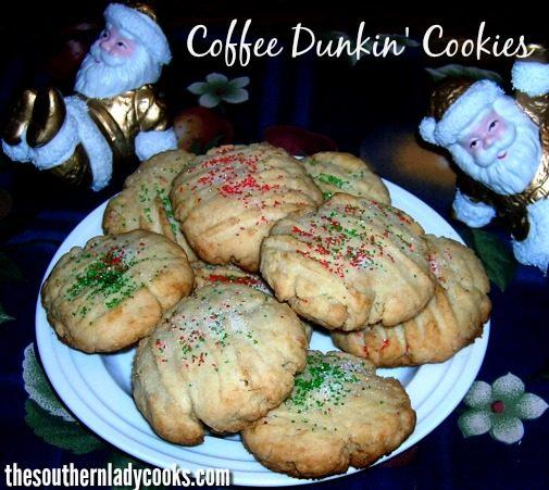 Coffee dunkin cookies